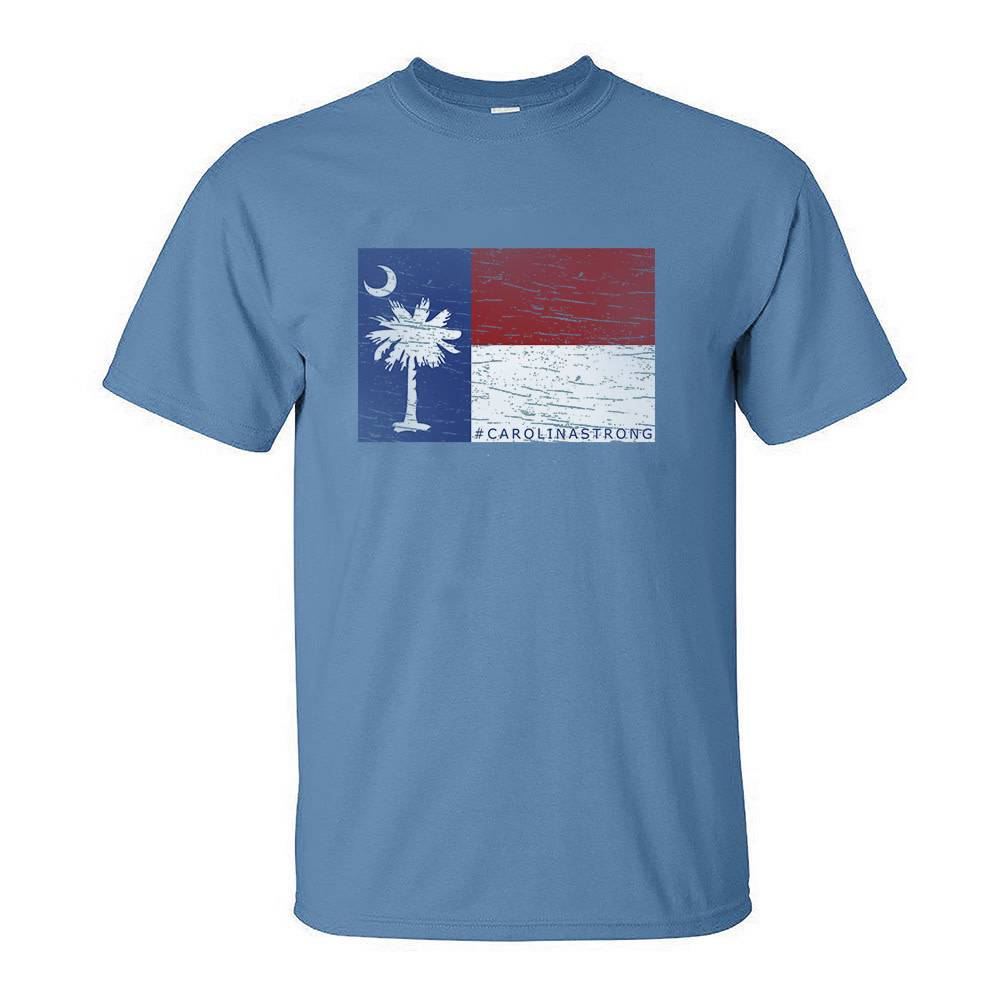 S.L. Revival Co. Carolina Strong T-Shirt, Blue