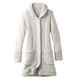 Women's Elsin Sweater Coat, Bone