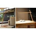 Pablo Designs Clamp Lamp - Floor, White Oak