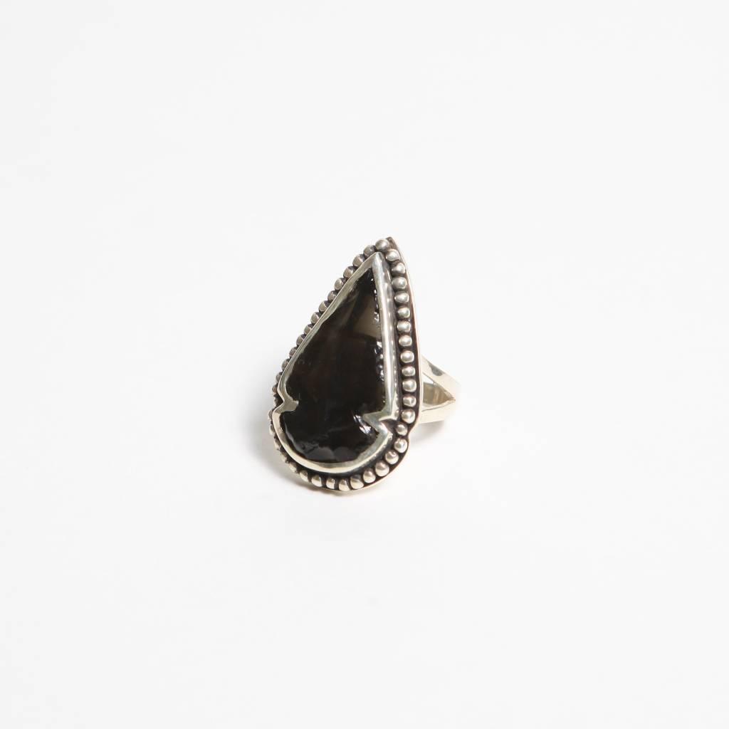 Pamela Love Small Arrowhead Ring, Size 7
