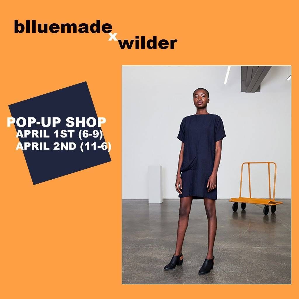 blluemade Pop-Up Shop