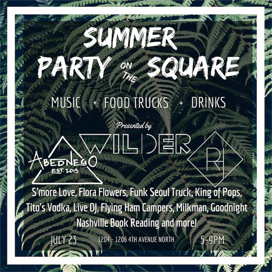 Summer Party on the Square