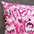 "electra eggleston Berlin Wedding 22"" Pillow with Black Twill Piping"