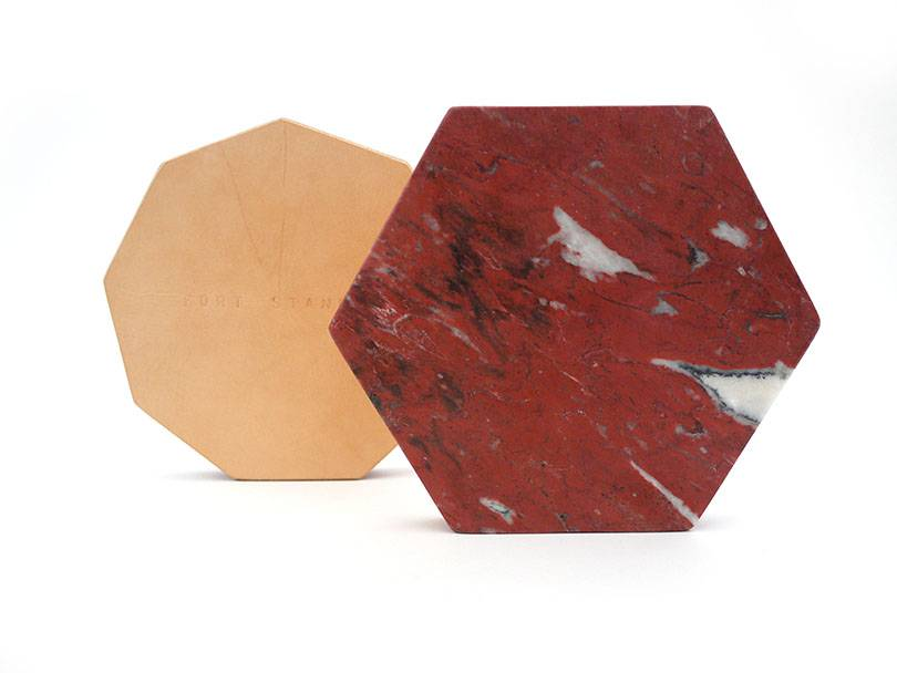 Fort Standard Colored Marble Trivet