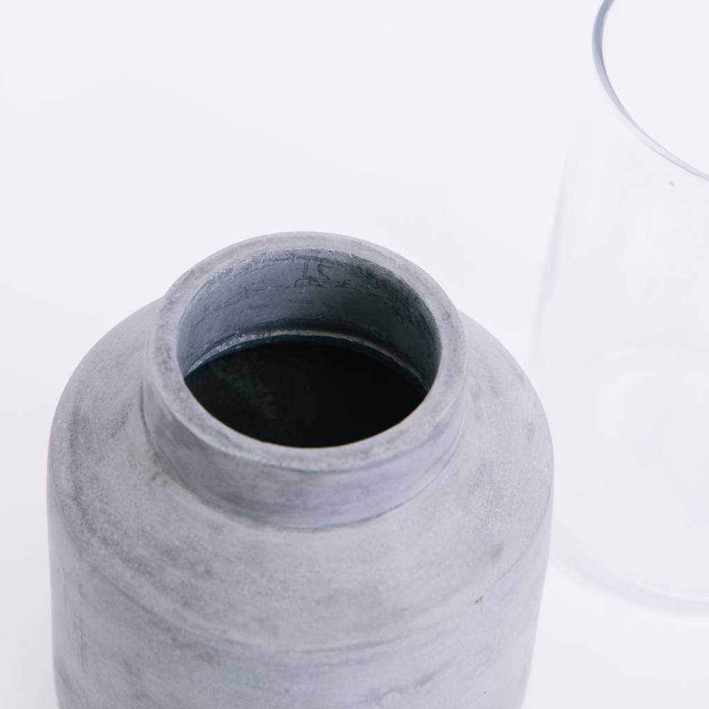 Menu Willmann Vase, Light Gray