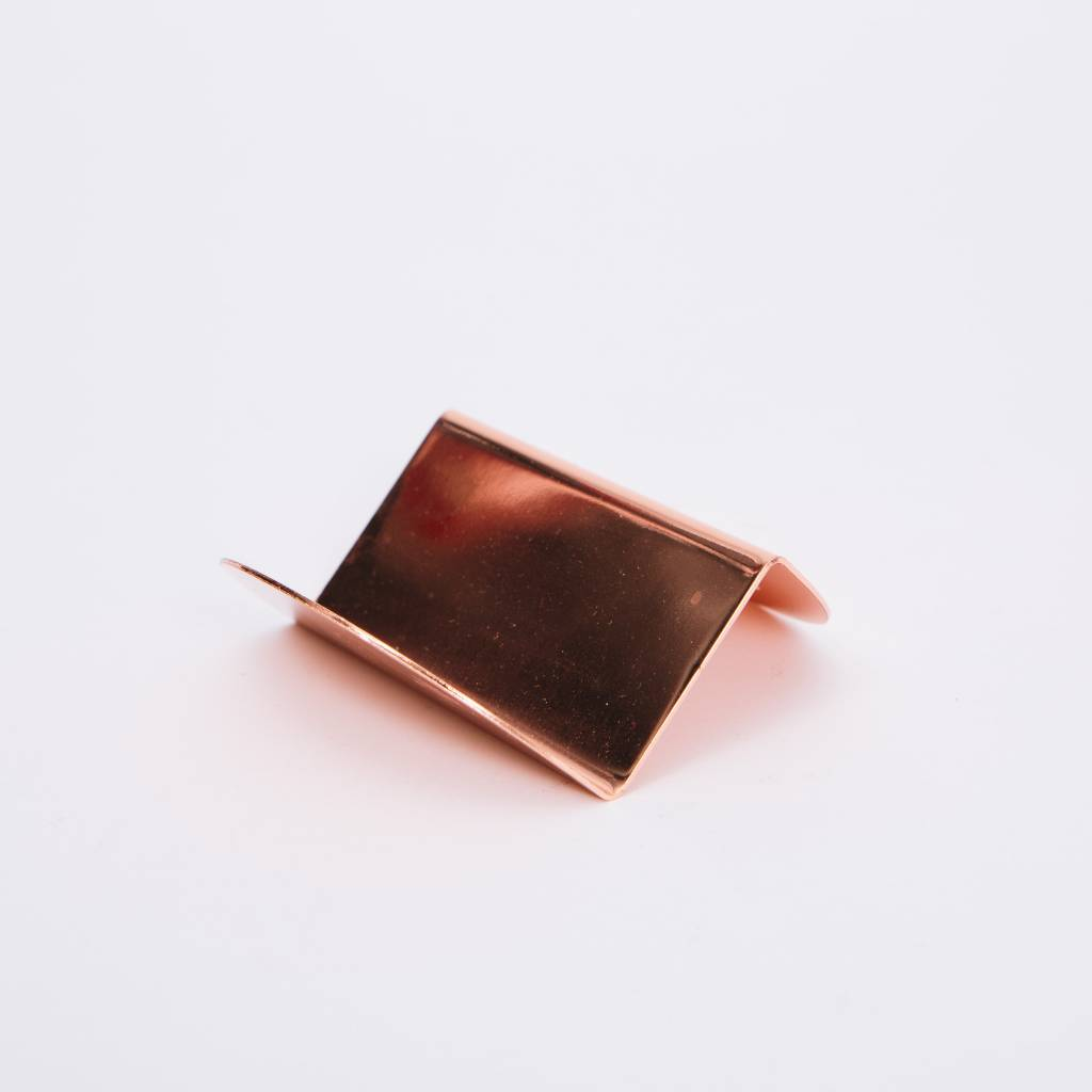 Souda wave business card holder copper wilder souda wave business card holder copper magicingreecefo Image collections