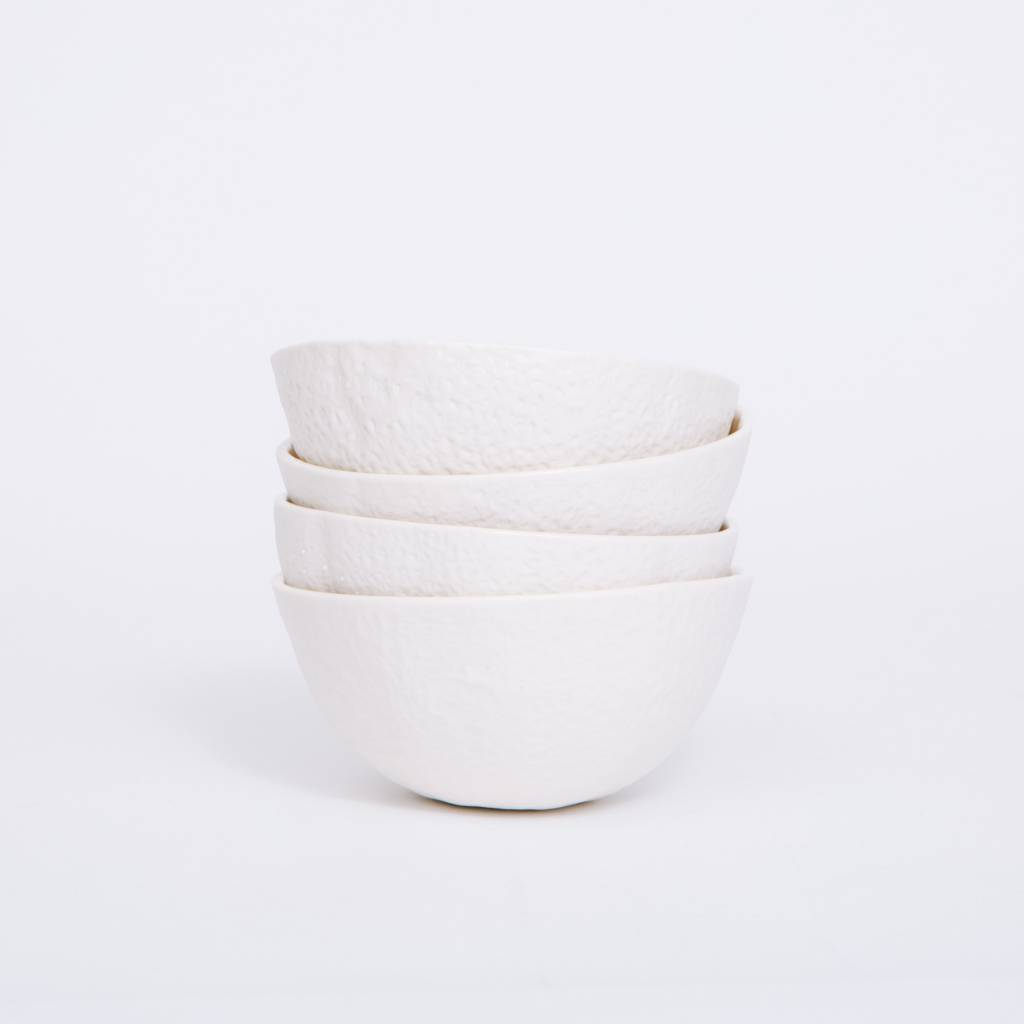 Areaware Stone Fruit Bowls, 4