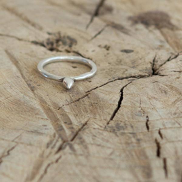 Suzannah Wainhouse Stud Ring, Silver