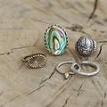 Suzannah Wainhouse Coiled Silver Cuff Ring, Silver