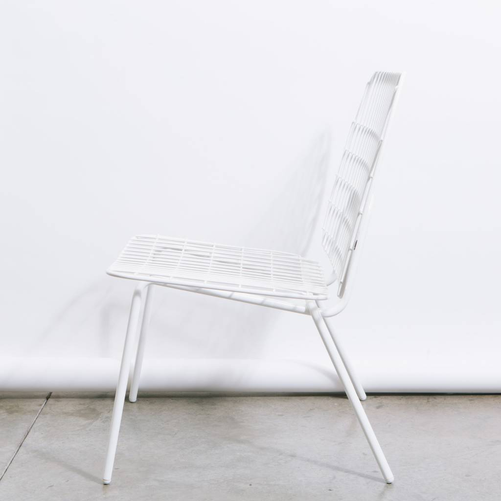 Menu WM String Lounge Chair, White, 2-pack