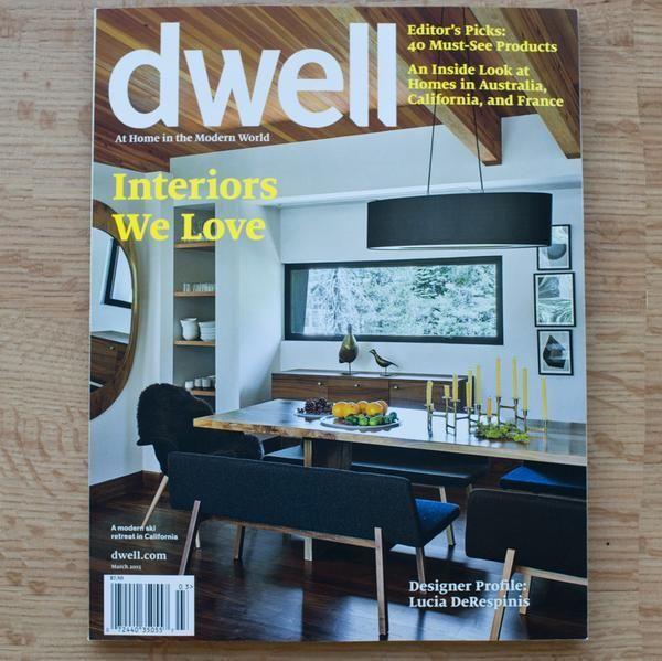 Dwell, March/April 2017