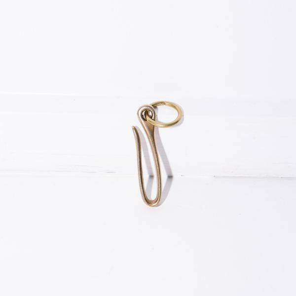 Standard Pattern Co Solid Brass Belt Hook
