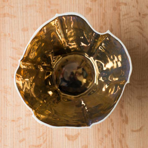 Souda Kawa Bowl, Small, Gold