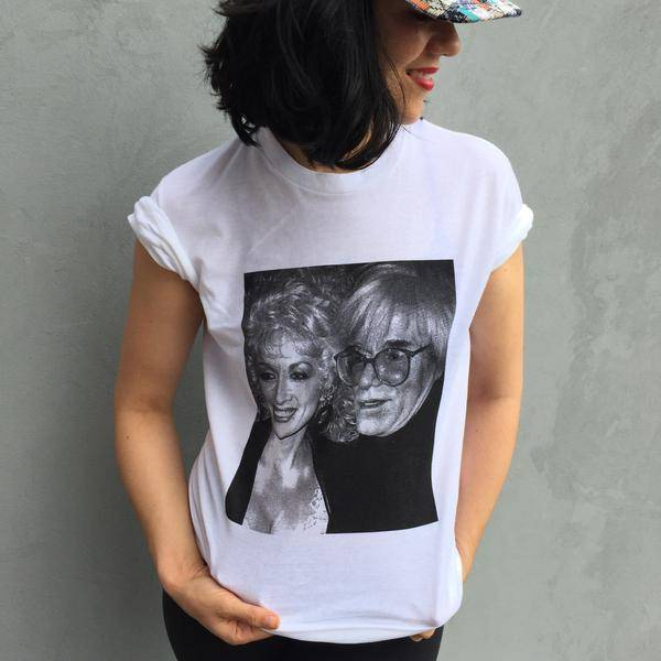 Done To Death Projects Dolly Warhol Tee