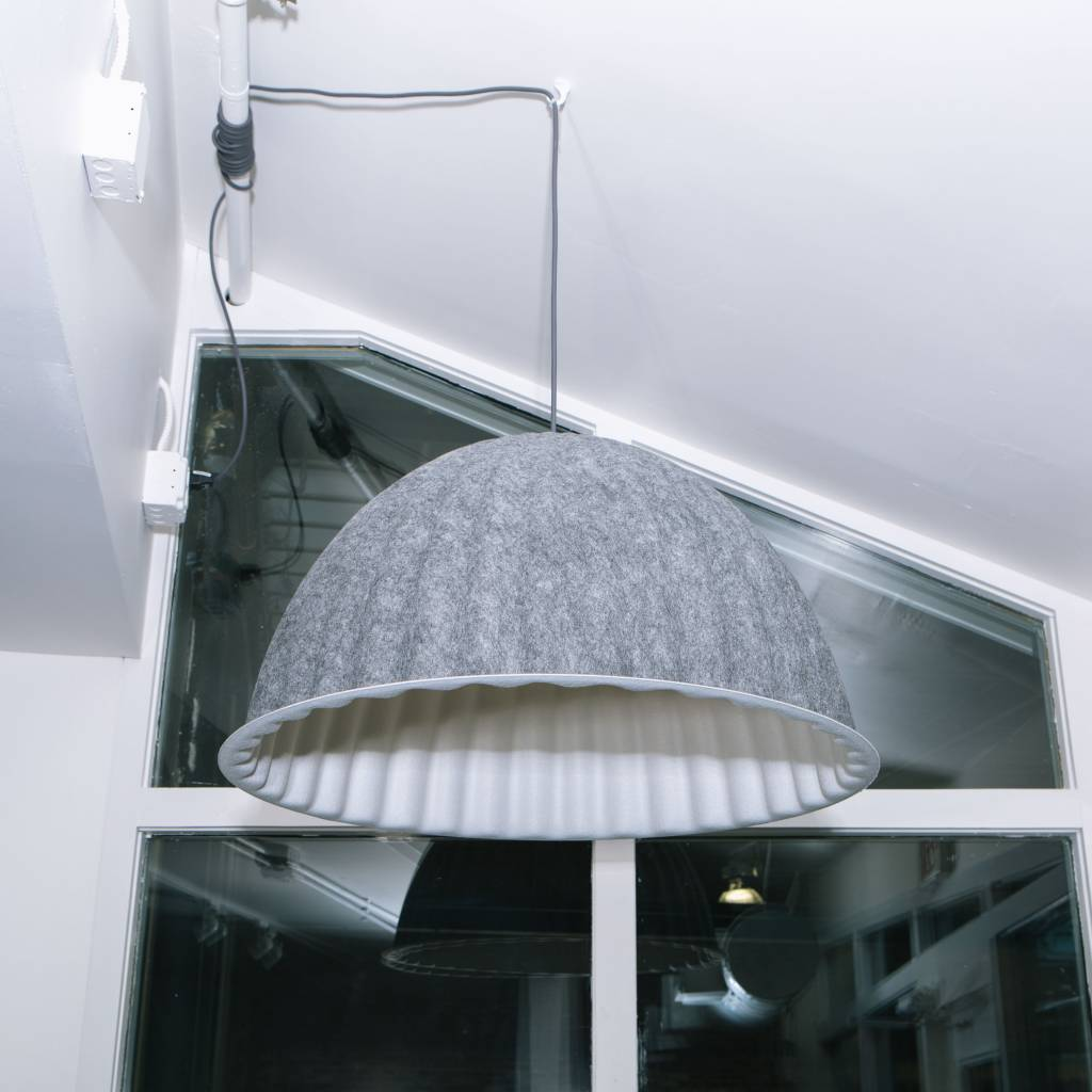 Under The Bell Pendant Lamp Grey Ul Vers Wilder