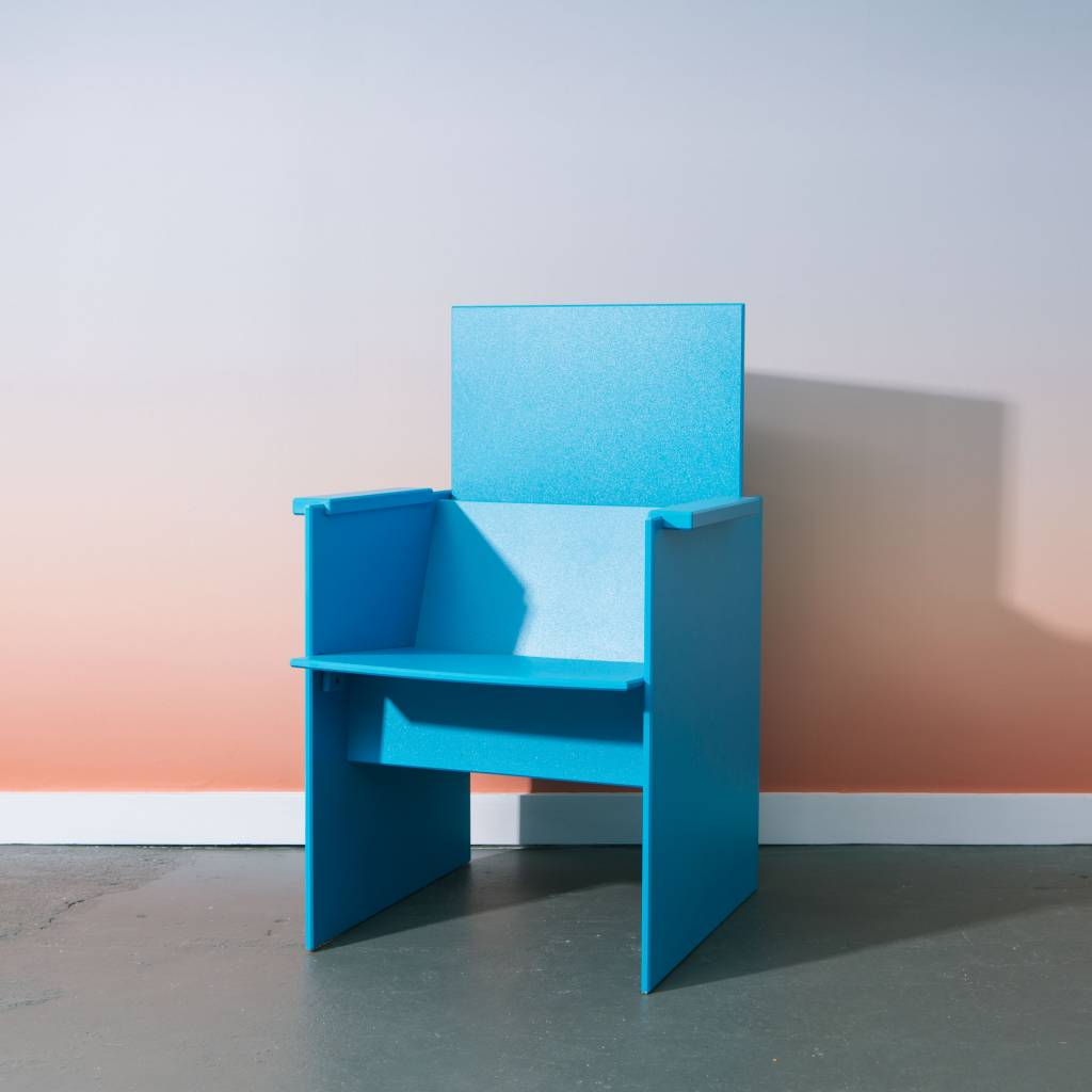 Loll Designs Lussi Chair, Sky Blue