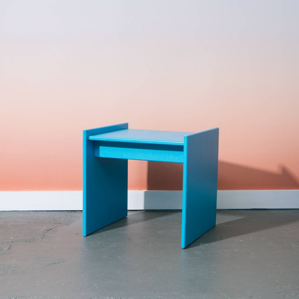 Loll Designs Sofia Side Table, Sky
