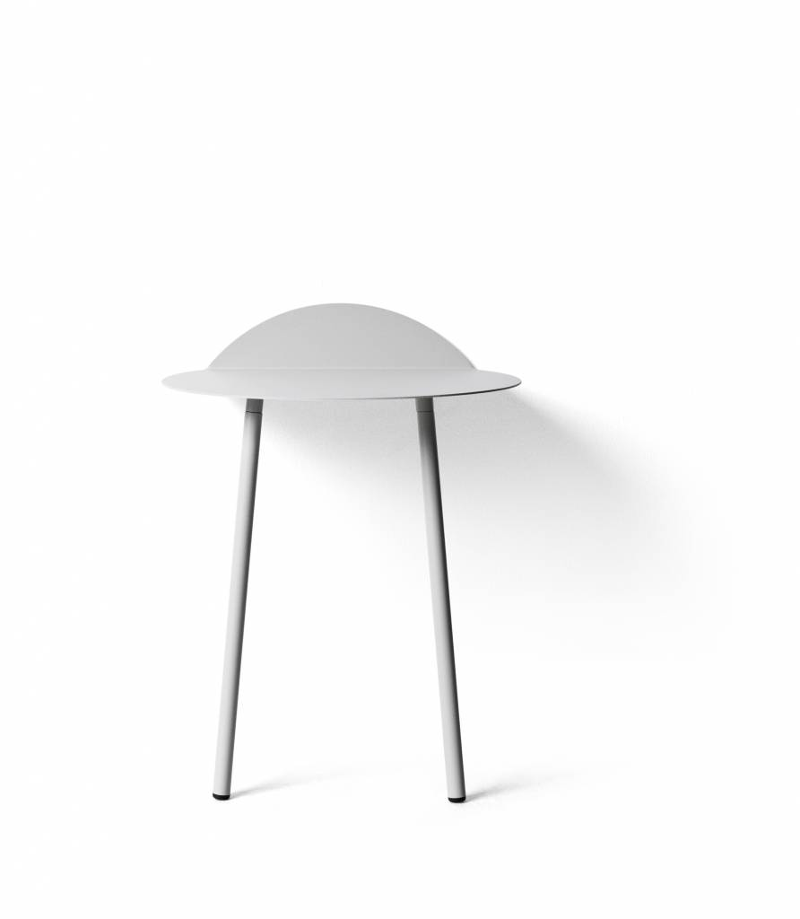Menu Yeh Wall Table, Low, Light Gray