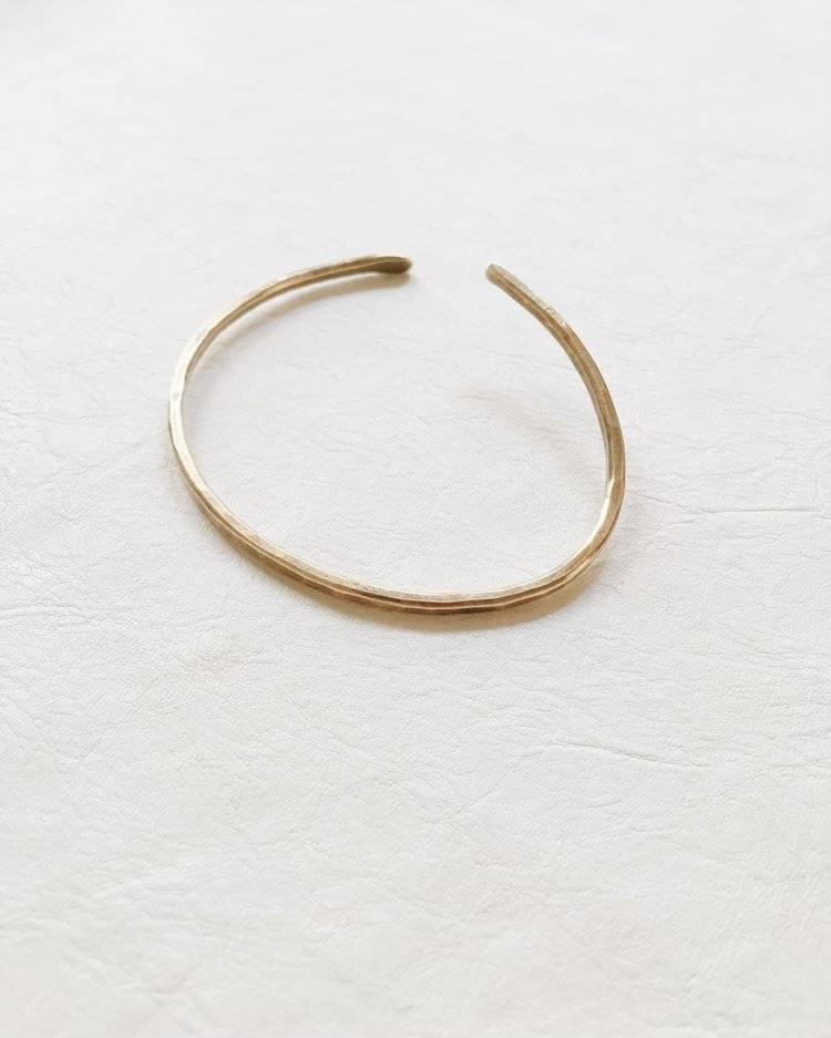 Portmanteau Fulcrum Bracelet, 14k Gold Plated, Limited Edition