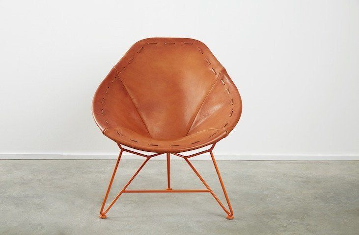 Garza Marfa Garza Marfa Oval Lounge Chair