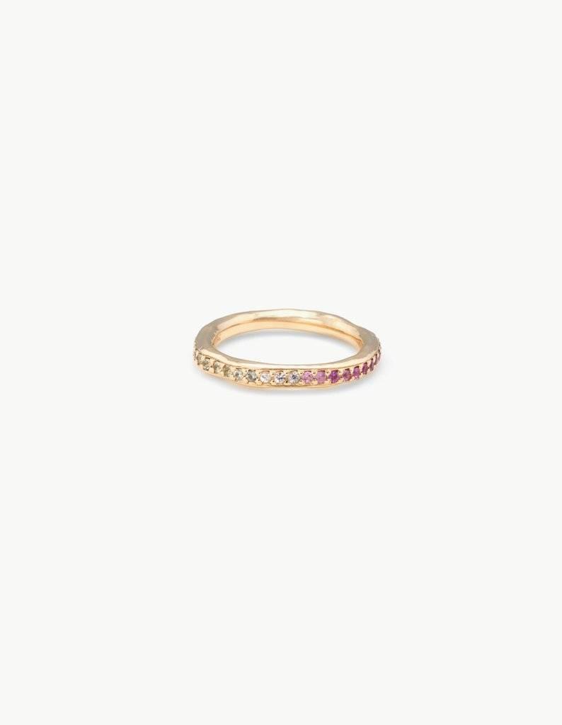 Kathryn Bentley Fine Jewelry Rainbow Eternity Band