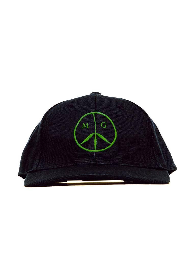 Mister Green Peace Cap Hemp - Black