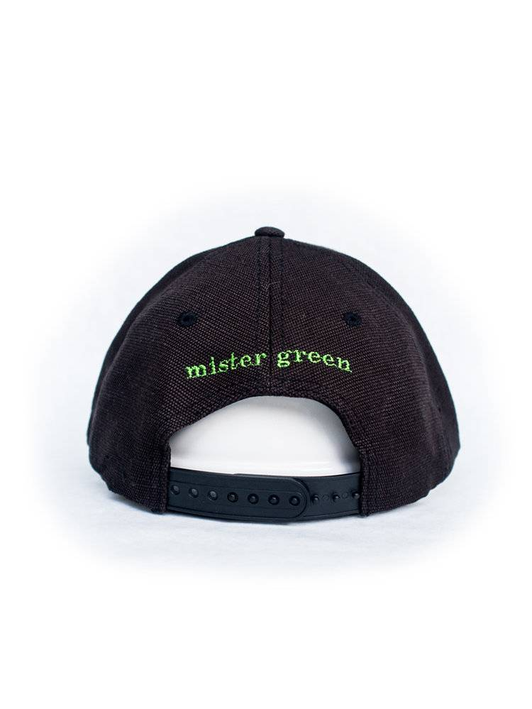 Mister Green Peace Cap Hemp - Black