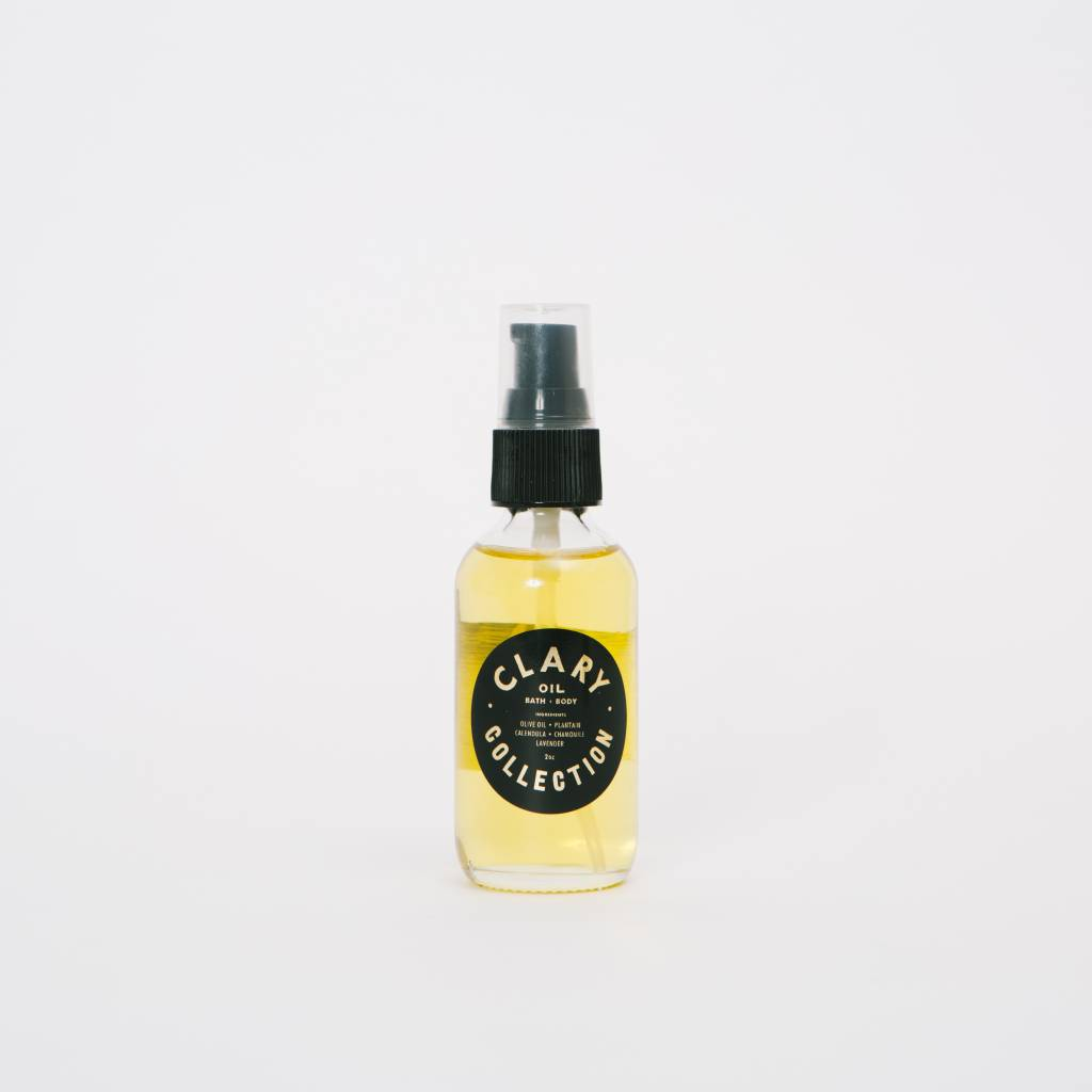 Clary Collection Clary Travel Bath + Body Oil