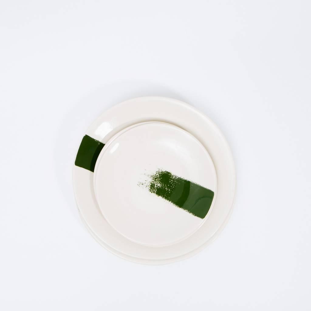Sarah Cihat Sarah Cihat Brush Stroke Salad Plate