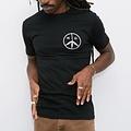 Mister Green Peace Logo Shirt Black