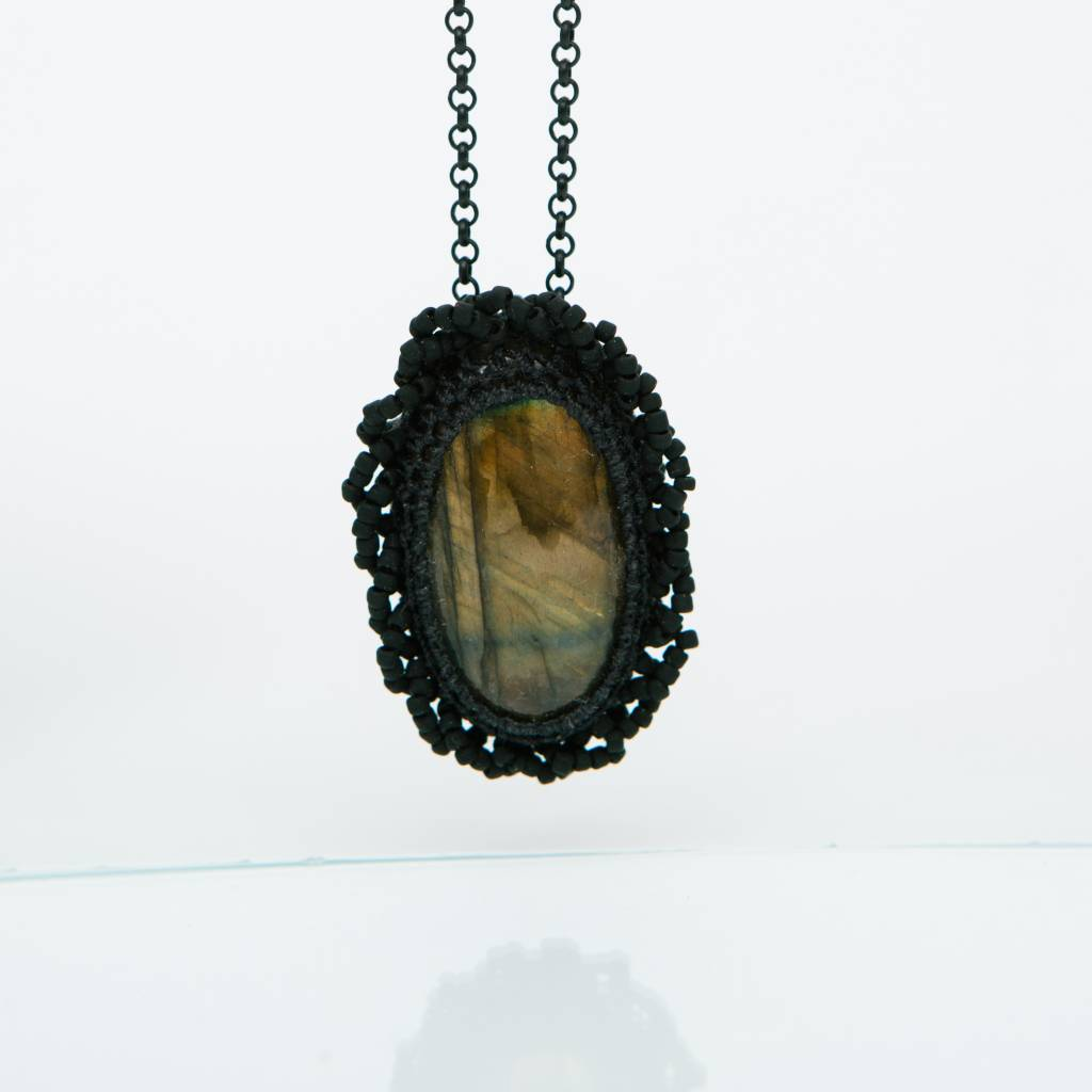 Jacki Holland Labradorite Necklace