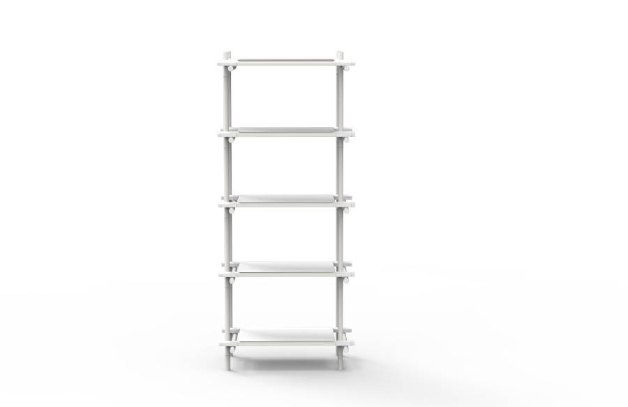 Menu Menu Stick System Shelving White/White
