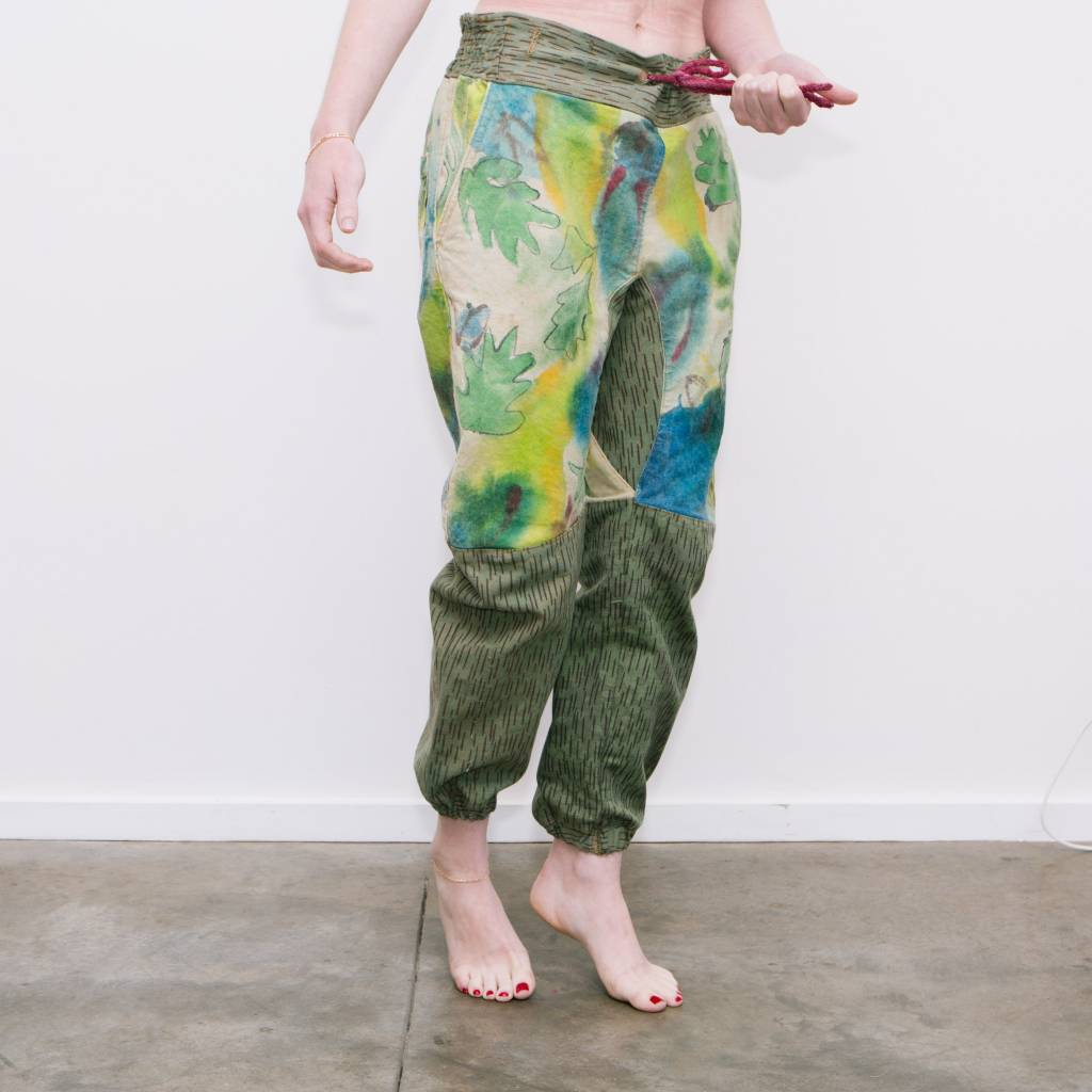 Absorka Vintage German Camo Canvas Pants