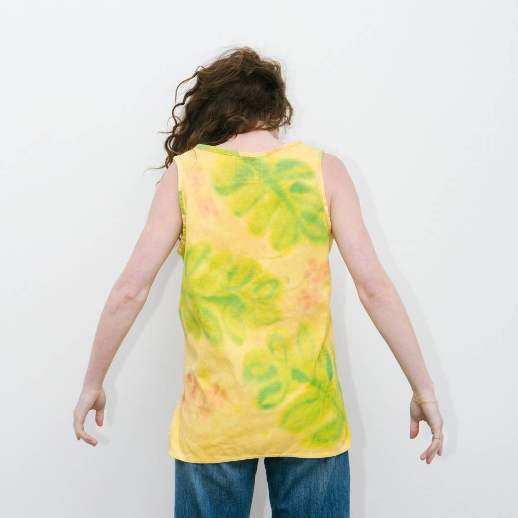 Absorka Cotton Tank Tumeric