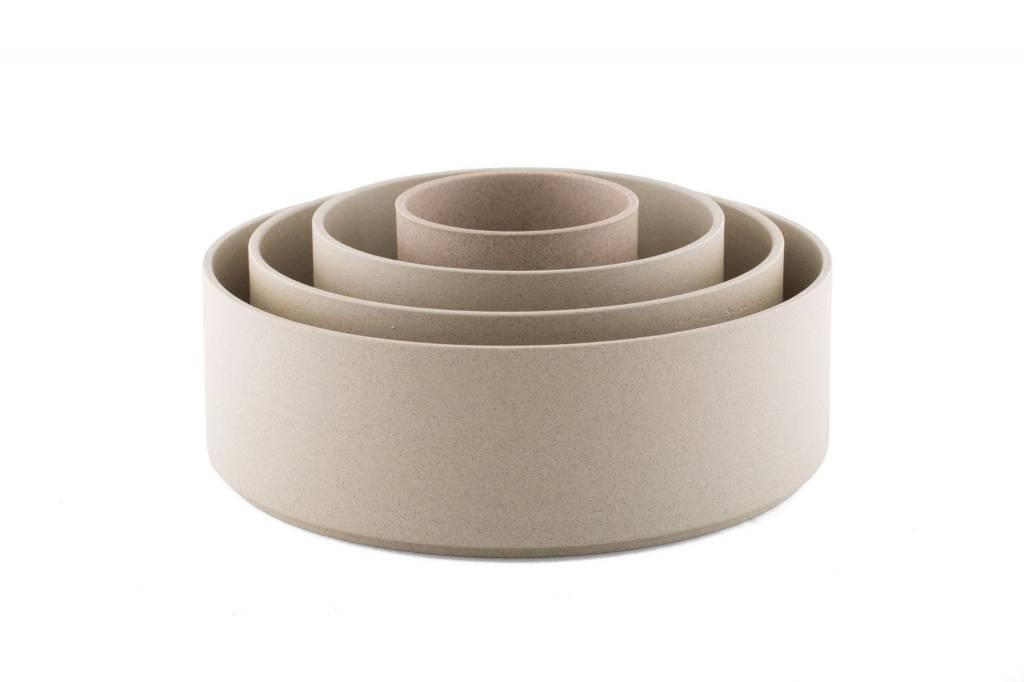 Hasami Porcelain Hasami Porcelain Cylinder Bowl, Natural