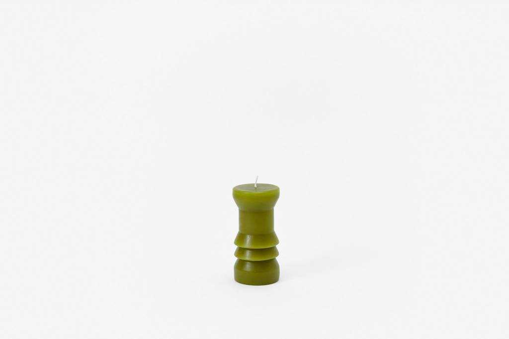 Areaware Totem Candles Moss Small
