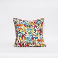 "electra eggleston Berlin Mitte 22"" Pillow with RedTwill Piping"
