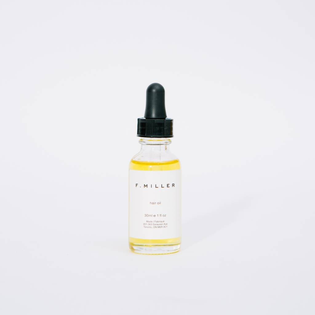 F. Miller All natural hair oil