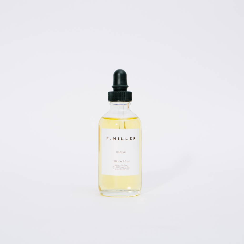 F. Miller All natural body oil