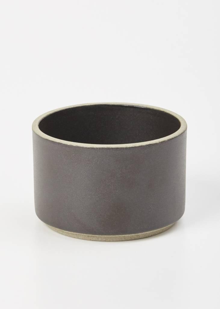 Hasami Porcelain Hasami Porcelain Cylinder Bowl, Black