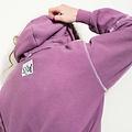 Maria Brinch Inside Out Hoodie - Purple MEDIUM