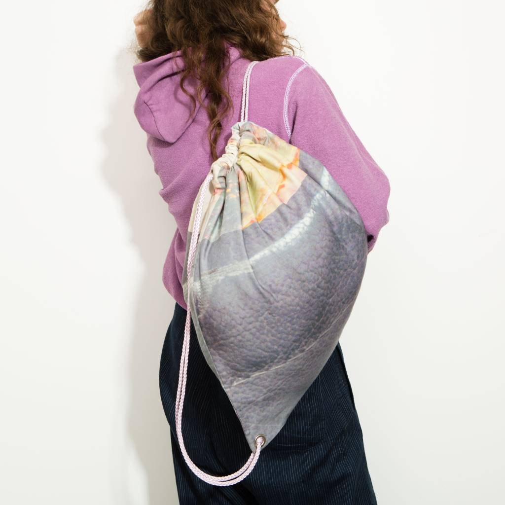 Maria Brinch Double Layer Wool Gym Bag