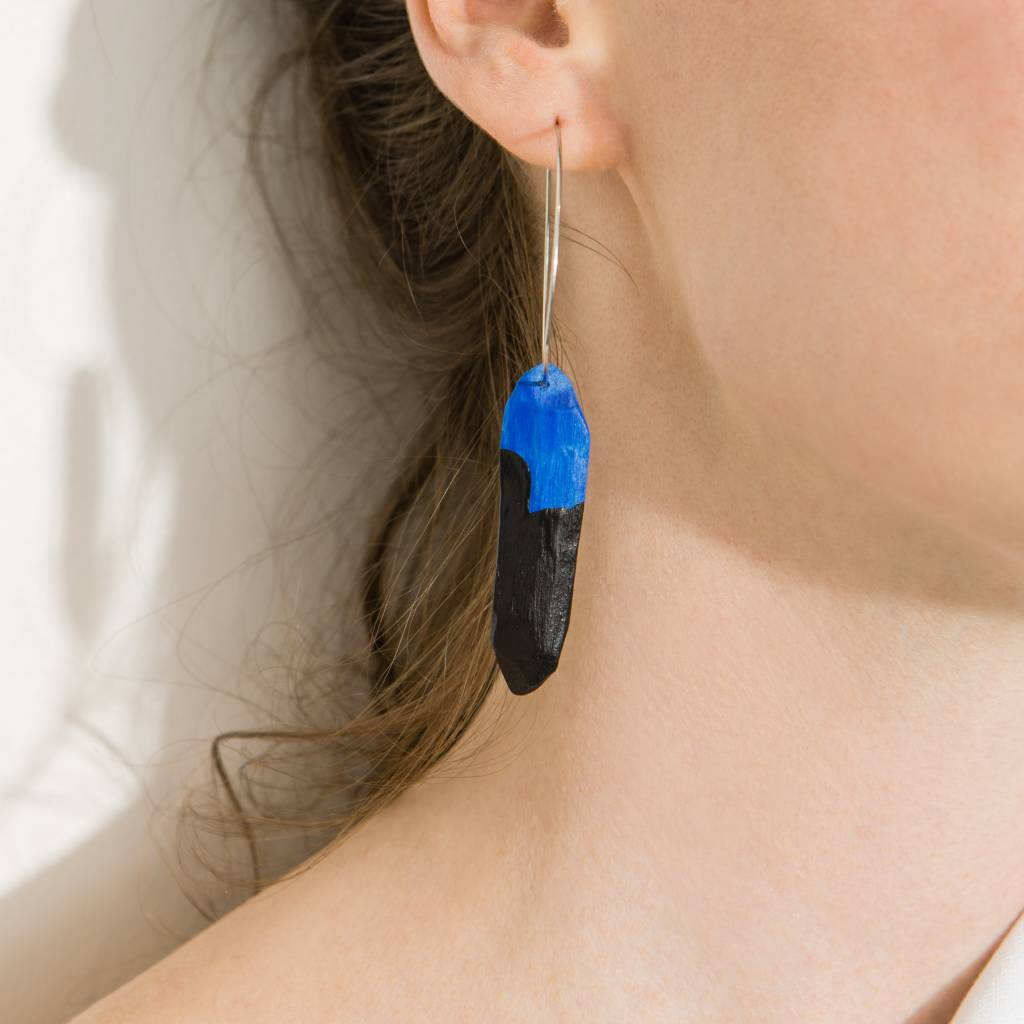 Maria Brinch Whittled Earrings