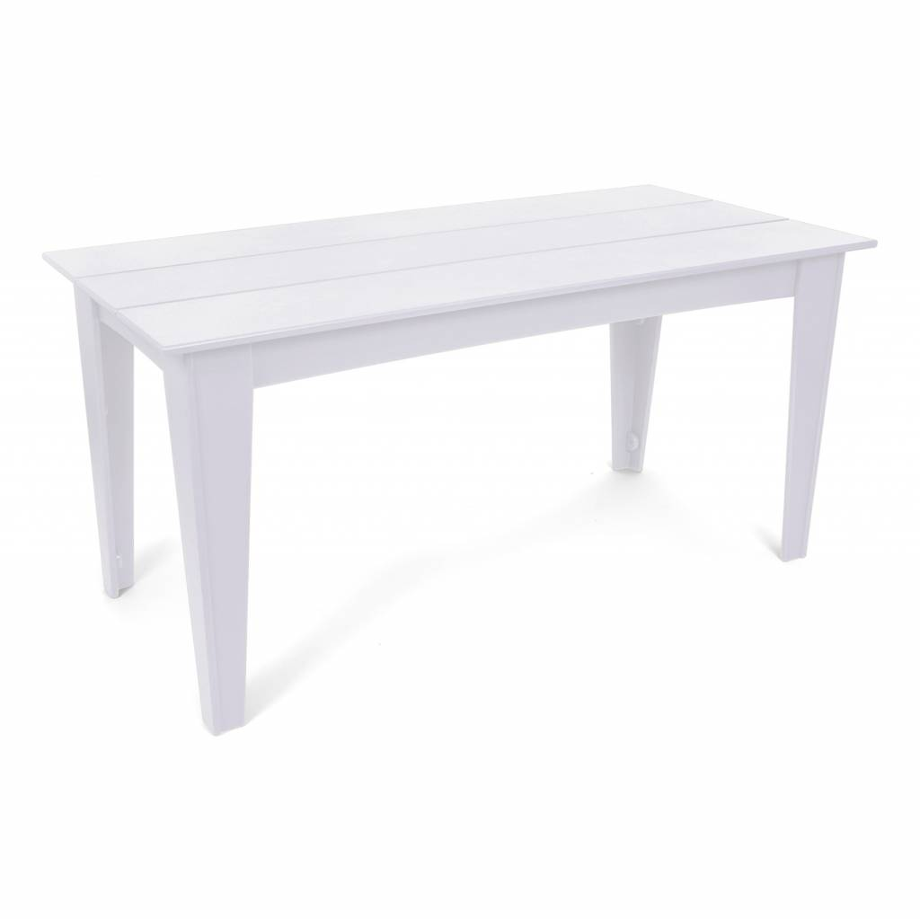 Loll Designs Alfresco Dining Table (82 Inch) Cloud White