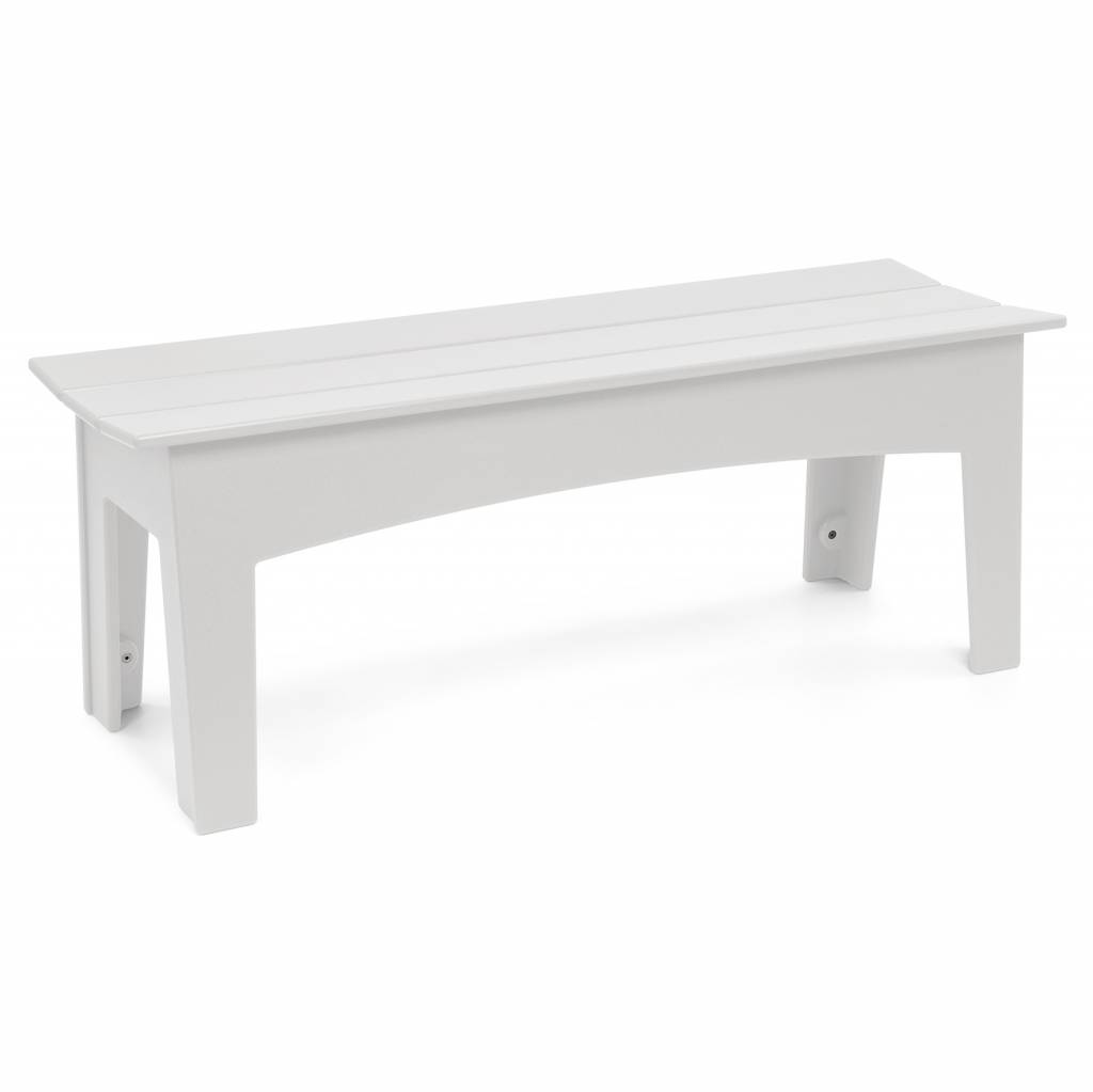 Loll Designs Alfresco Bench (58 inch), Cloud