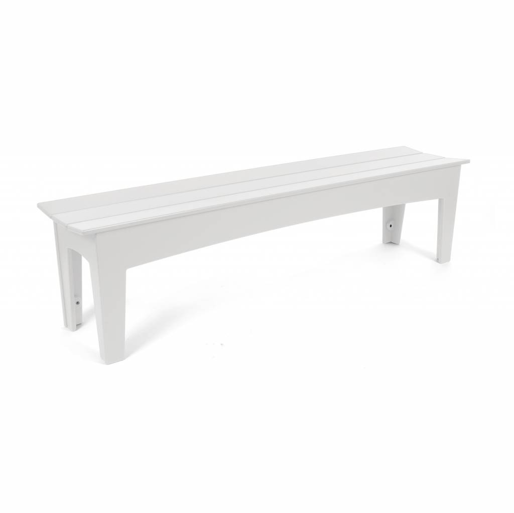 Loll Designs Alfresco Bench (68 inch), Cloud