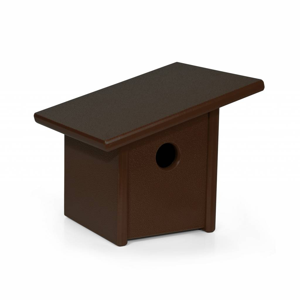 Loll Designs Pitch Modern Birdhouse