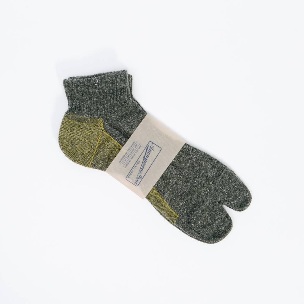 Anonymous Ism Separate Middle Socks, Gray