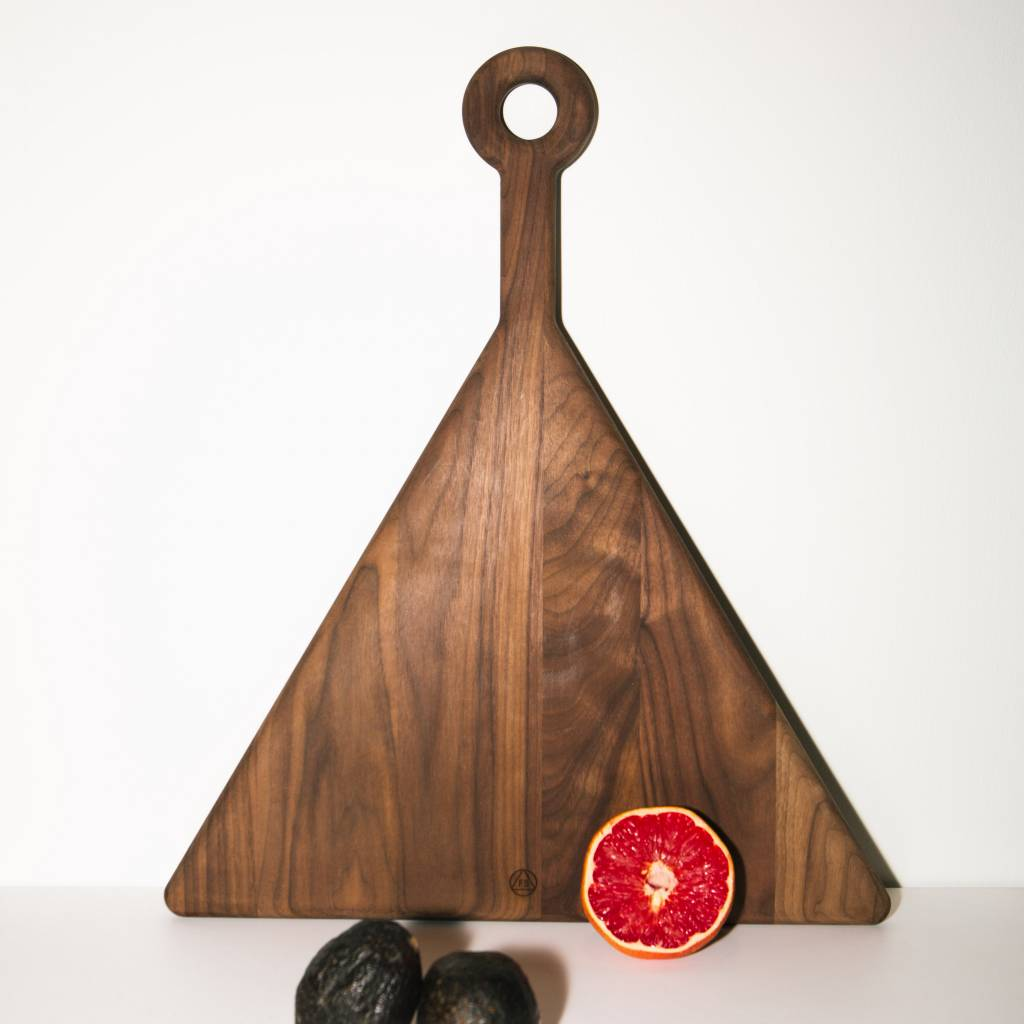 Fort Standard Walnut Triangle Cutting Board