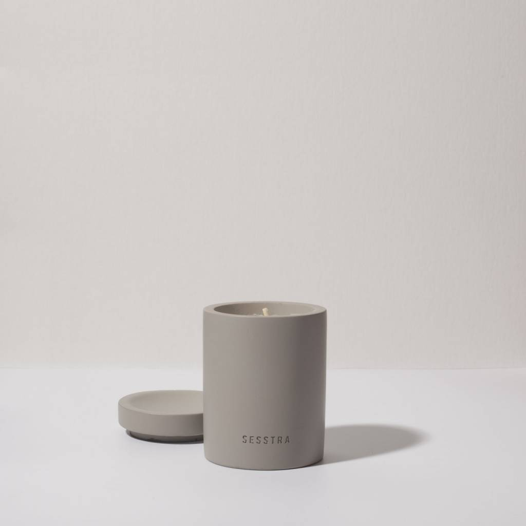 Sesstra Concrete Candle